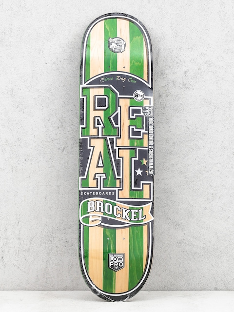 Doska Real Brockel Splc Lopro (black/green/natural)