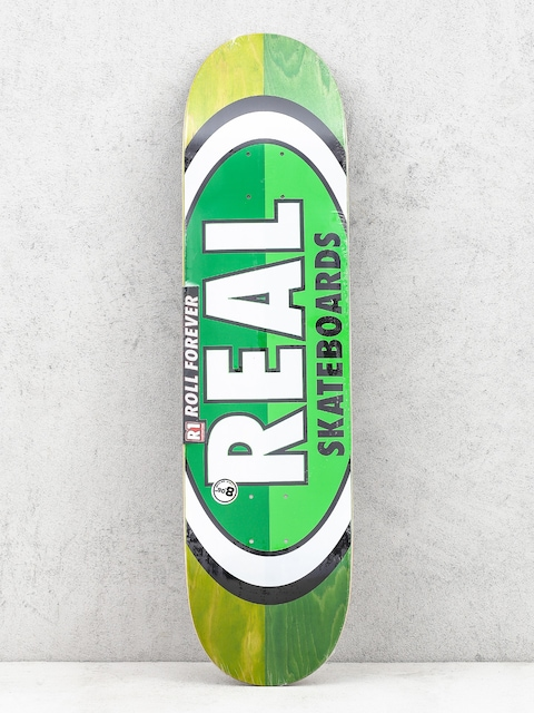 Doska Real  Brd 50 50 Oval (green/green)