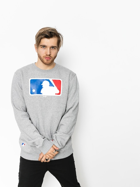 Mikina New Era Nos MLB Logo (grey heather)