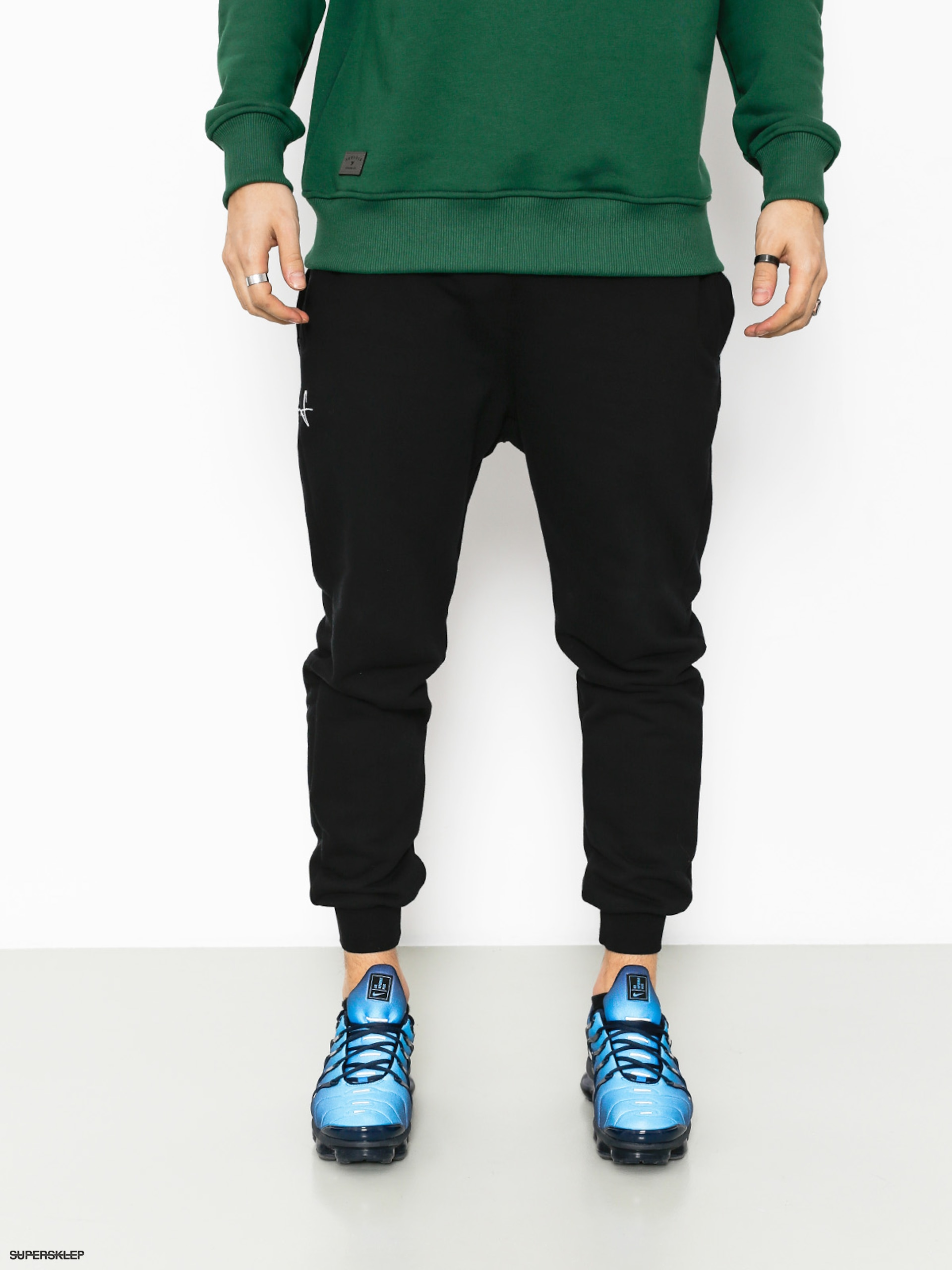 Nohavice Stoprocent Base Jogger Drs (black)