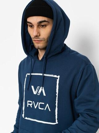 Mikina s kapucňou RVCA  Va All The Way HD (classic indigo)