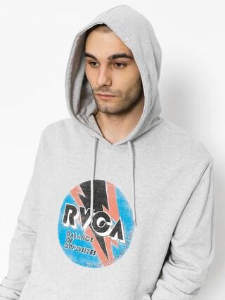 Mikina s kapucňou RVCA Volt HD (athletic heather)