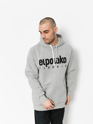 Mikina s kapucňou El Polako Classic Logo HD (grey)