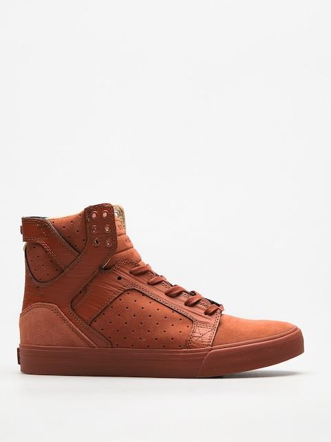 Topánky Supra  Skytop (brown patina)