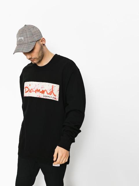 Mikina Diamond Supply Co.  Flamingo Box Logo (black)