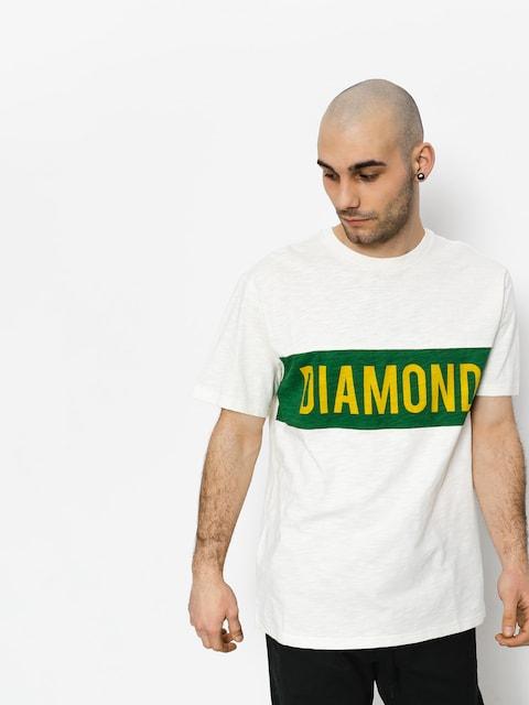 Tričko Diamond Supply Co. Elliot (cream)