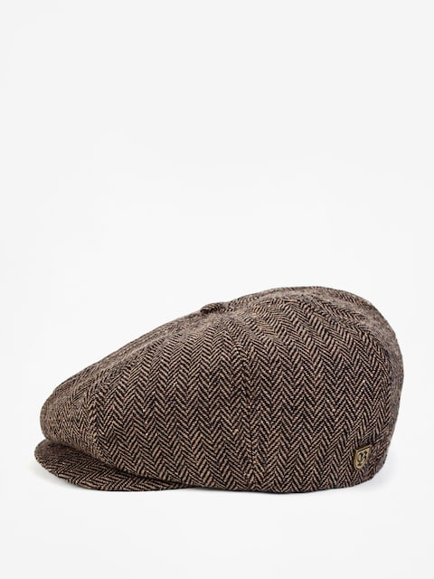 Klobúk so šiltom Brixton Brood Snap ZD (brown/khaki)