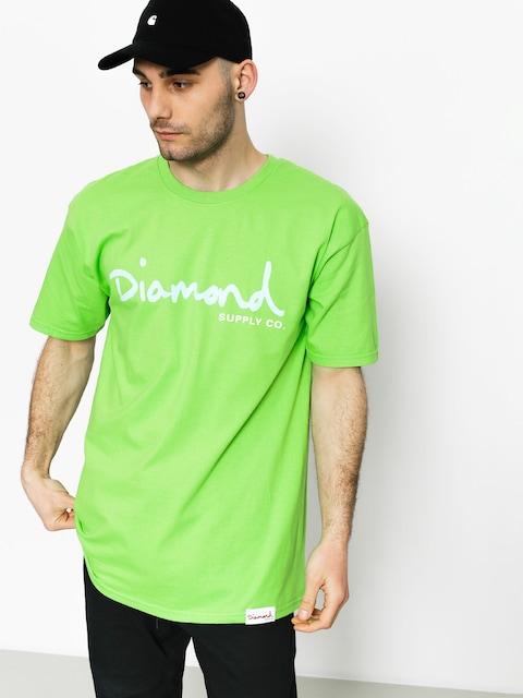 Tričko Diamond Supply Co. Og Script
