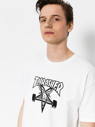 Tričko Thrasher Skate Goat (white)