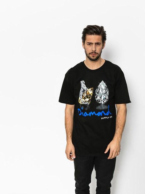 Tričko Diamond Supply Co. Tiger (black)