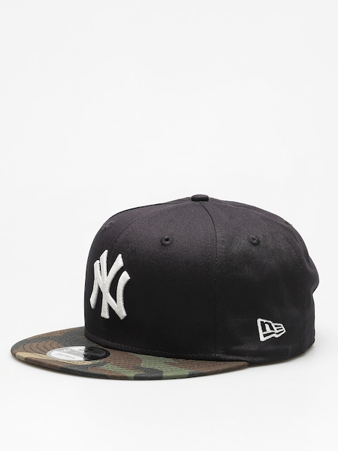 Šiltovka New Era Team Camo 950 New York Yankees ZD (navy/woodland camo)