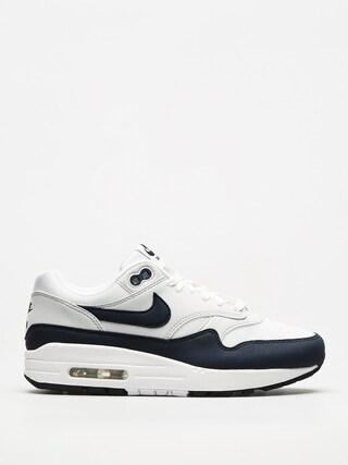 Topu00e1nky Nike Air Max 1 Wmn (white/obsidian pure platinum black)