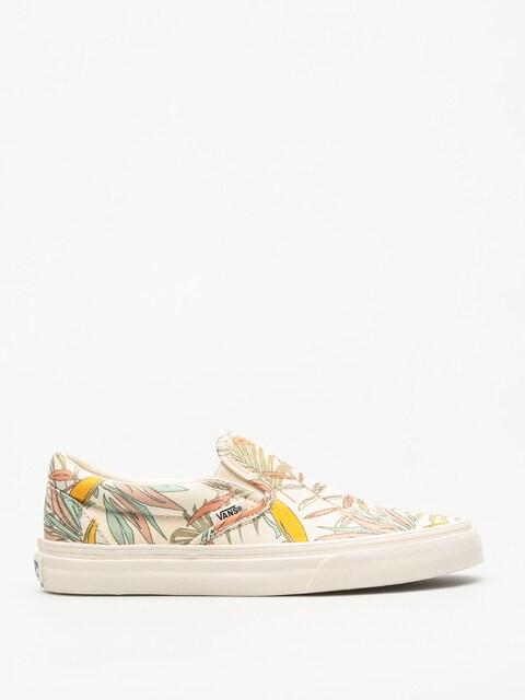Topánky Vans Classic Slip On (california/floral/marshmallow/marshmallow)