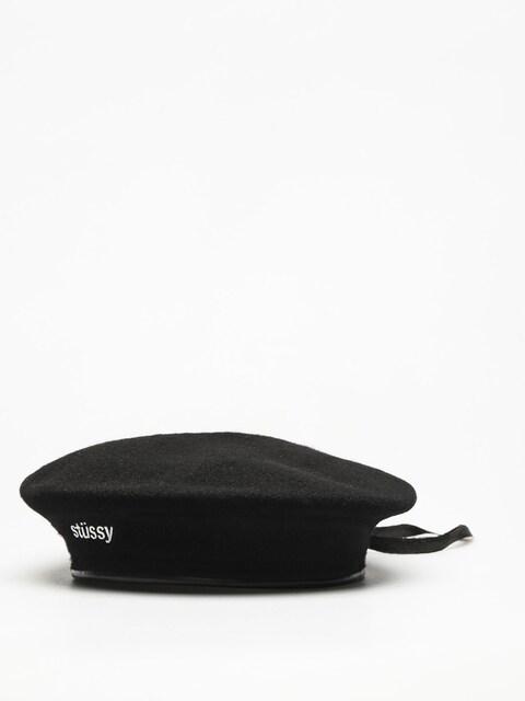 Klobúk so šiltom Stussy Beret Military Beret Wmn (black)