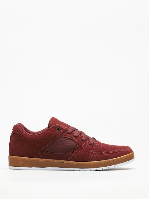 Topánky Es Accel Slim (burgundy/gum)