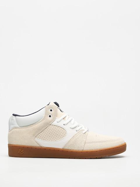 Topánky Es Accel Slim Mid (white/gum)