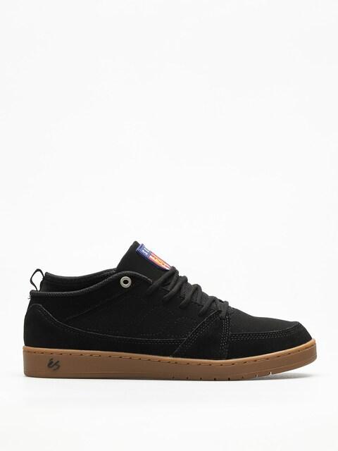 Topánky Es Slb Mid (black/gum)