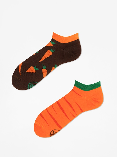 Ponožky Many Mornings Garden Carrots Low (orange/brown)