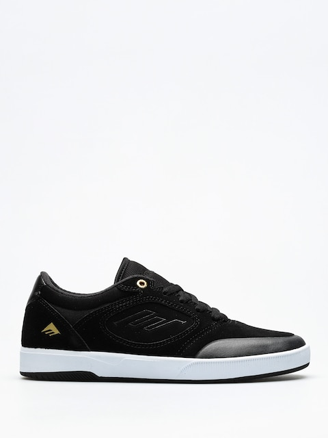 Topánky Emerica Dissent (black/white/gold)