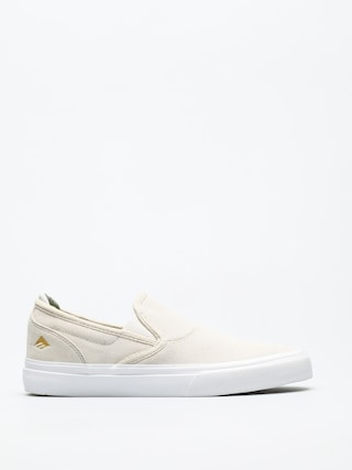 Topu00e1nky Emerica Wino G6 Slip On (white/white)