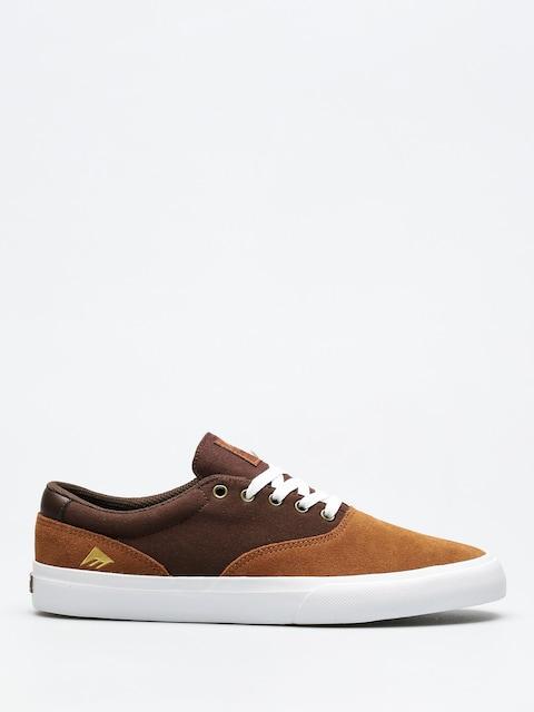 Topánky Emerica Provost Slim Vulc (tan/brown/white)