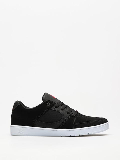 Topánky Es Accel Slim (black/white/red)