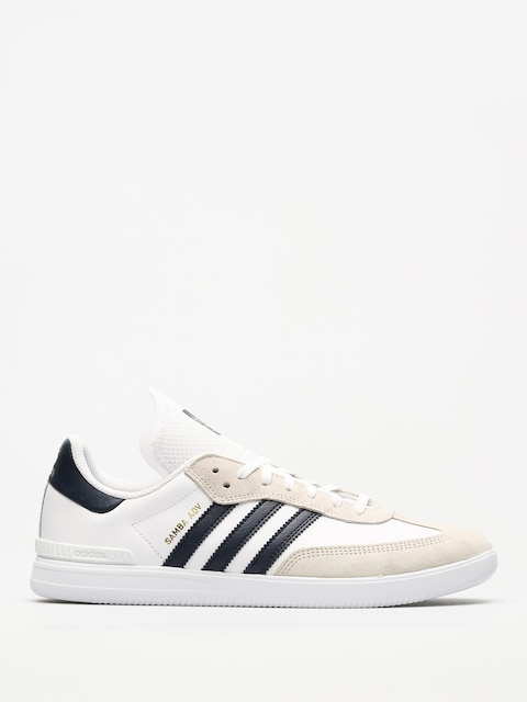 Topánky Adidas Samba Adv (ftwr white/collegiate navy/gold met.)