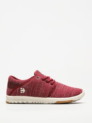 Topánky Etnies Scout Wmn (burgundy/tan/gum)
