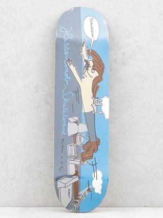 Doska Mob Skateboards Muehlheim (blue/grey)