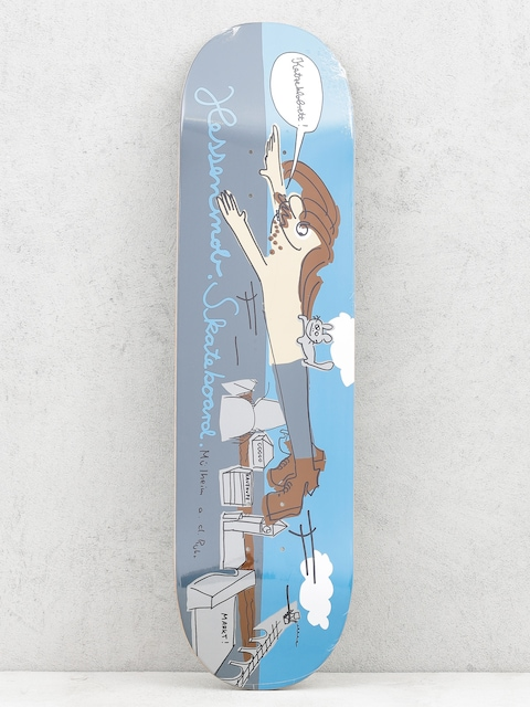 Doska Mob Skateboards Muehlheim (blue/grey)