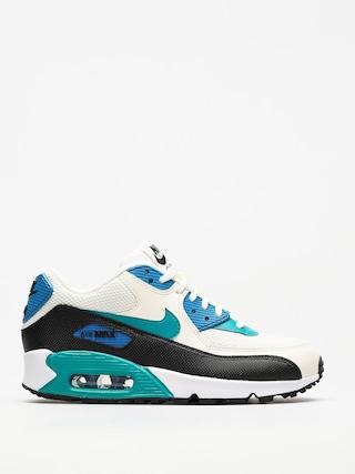 Topánky Nike Air Max 90 Wmn (sail/radiant emerald black blue nebula)