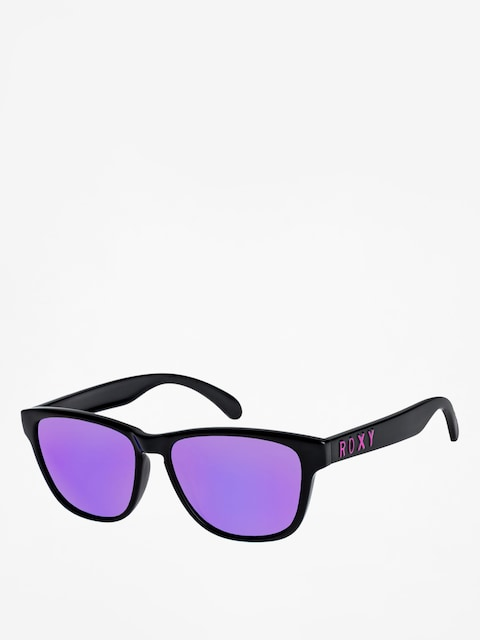 Slnečné okuliare Roxy Mini Uma Wmn (shiny black/ml purpl)