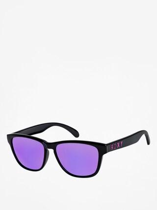 Slneu010dnu00e9 okuliare Roxy Mini Uma Wmn (shiny black/ml purpl)