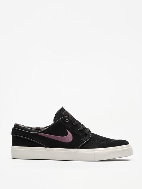 Topánky Nike SB Zoom Stefan Janoski (black/pro purple ridgerock light bone)