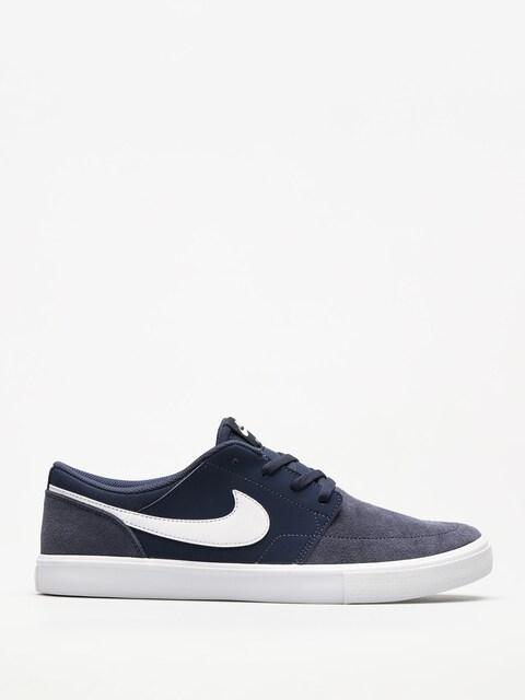 Topánky Nike SB Portmore II Solar (midnight navy/white black)