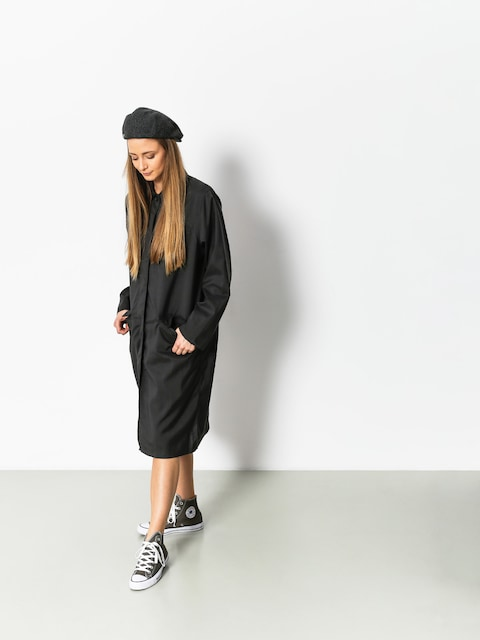 Kabát Stussy Jude Long Plaid Wmn (charcoal)