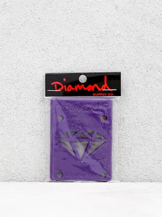 Podlou017eky Diamond Supply Co. Rise & Shine Risers (purple)