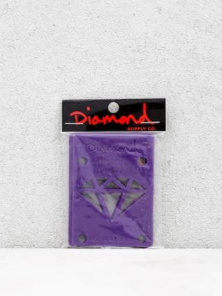 Podložky Diamond Supply Co. Rise & Shine Risers (purple)