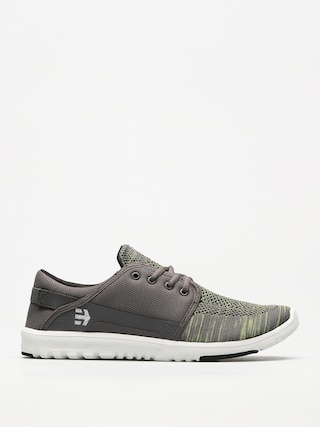 Topu00e1nky Etnies Scout Yb (grey/green)