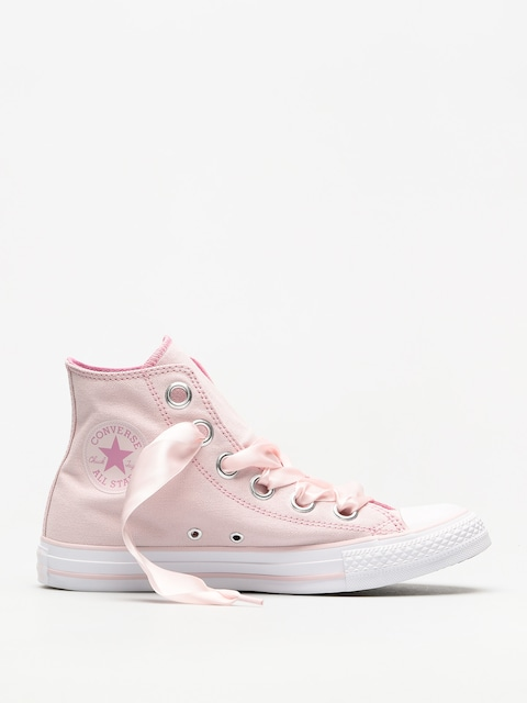 Tenisky Converse Chuck Taylor As Big Eyelets Hi Wmn (barely rose/light orchid/white)