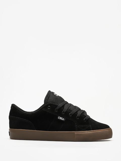 Topánky Circa Cero (black/gum)