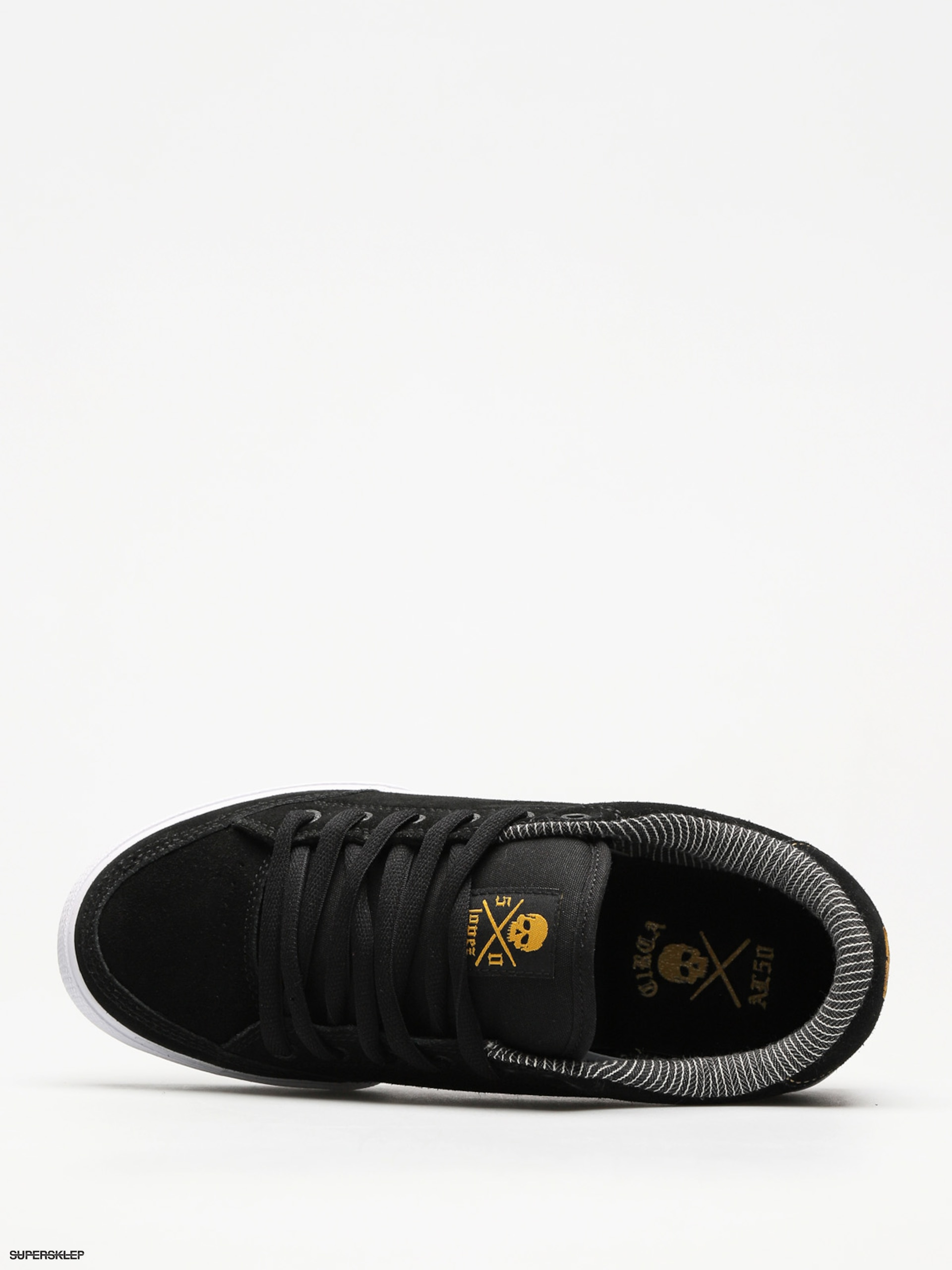 Topánky Circa Lopez 50 (black golden yellow) c96a96b7051