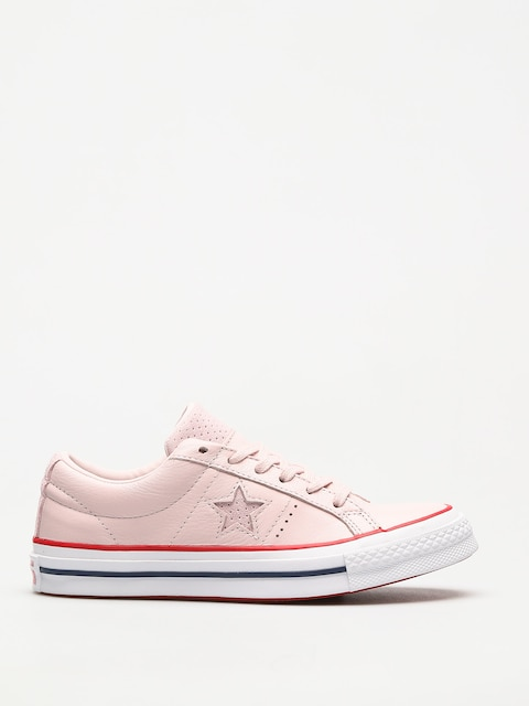 Topánky Converse One Star (barely rose/gym red/white)