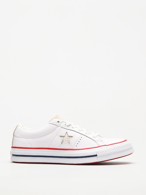 Topánky Converse One Star (white/gym red/white)