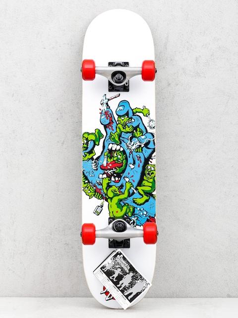 Skateboard Santa Cruz Gremlin Patrol (white)