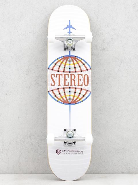 Skateboard Stereo Worldwide (white)