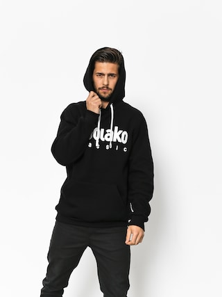 Mikina s kapucňou El Polako Classic HD (black)