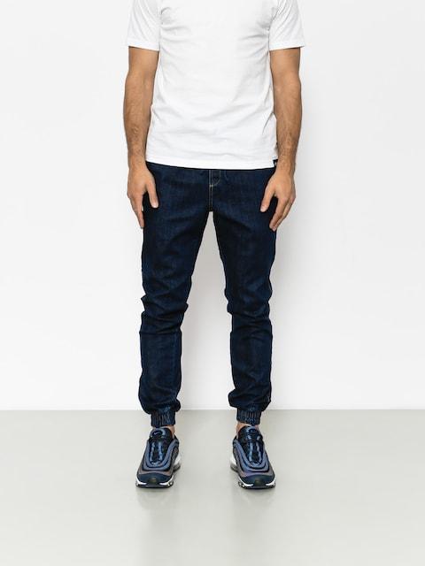 Nohavice Diamante Wear Rm Jeans Jogger (navy jeans)