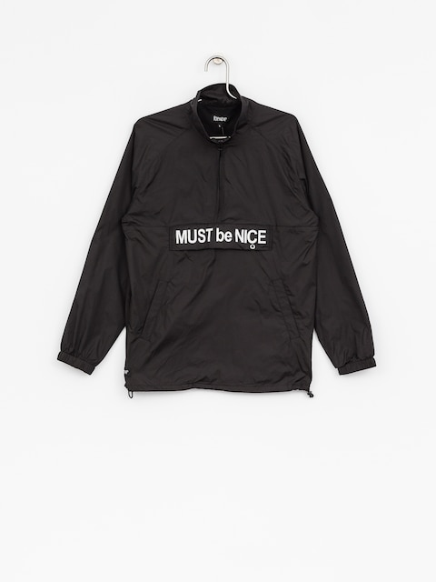 Bunda RipNDip Must Be Nice Half Zip Anorak (black/3m ink)