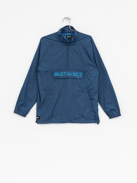 Bunda RipNDip Must Be Nice Half Zip Anorak (blue)